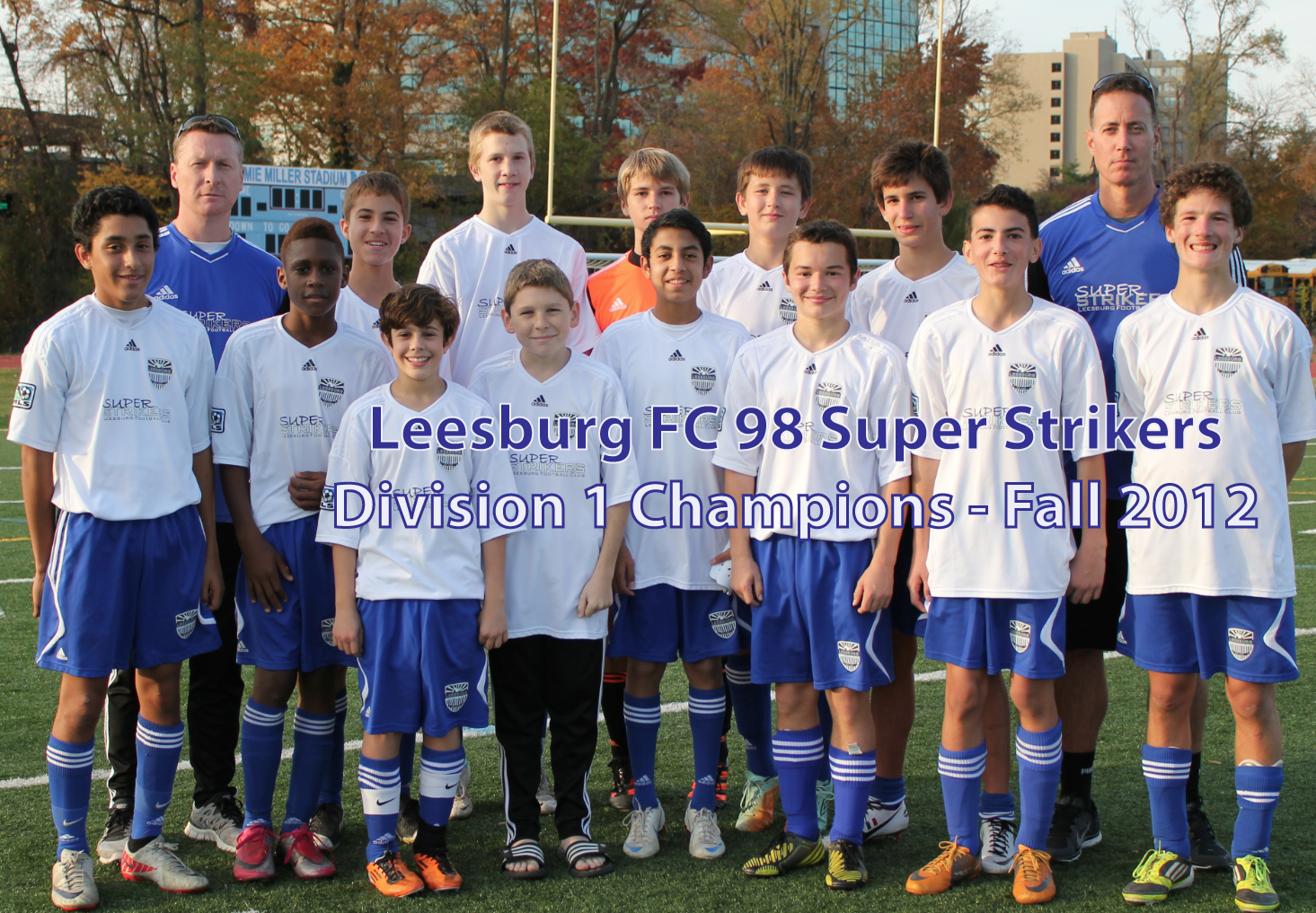 6de343ee3 Six Leesburg FC teams take top spots in NCSL