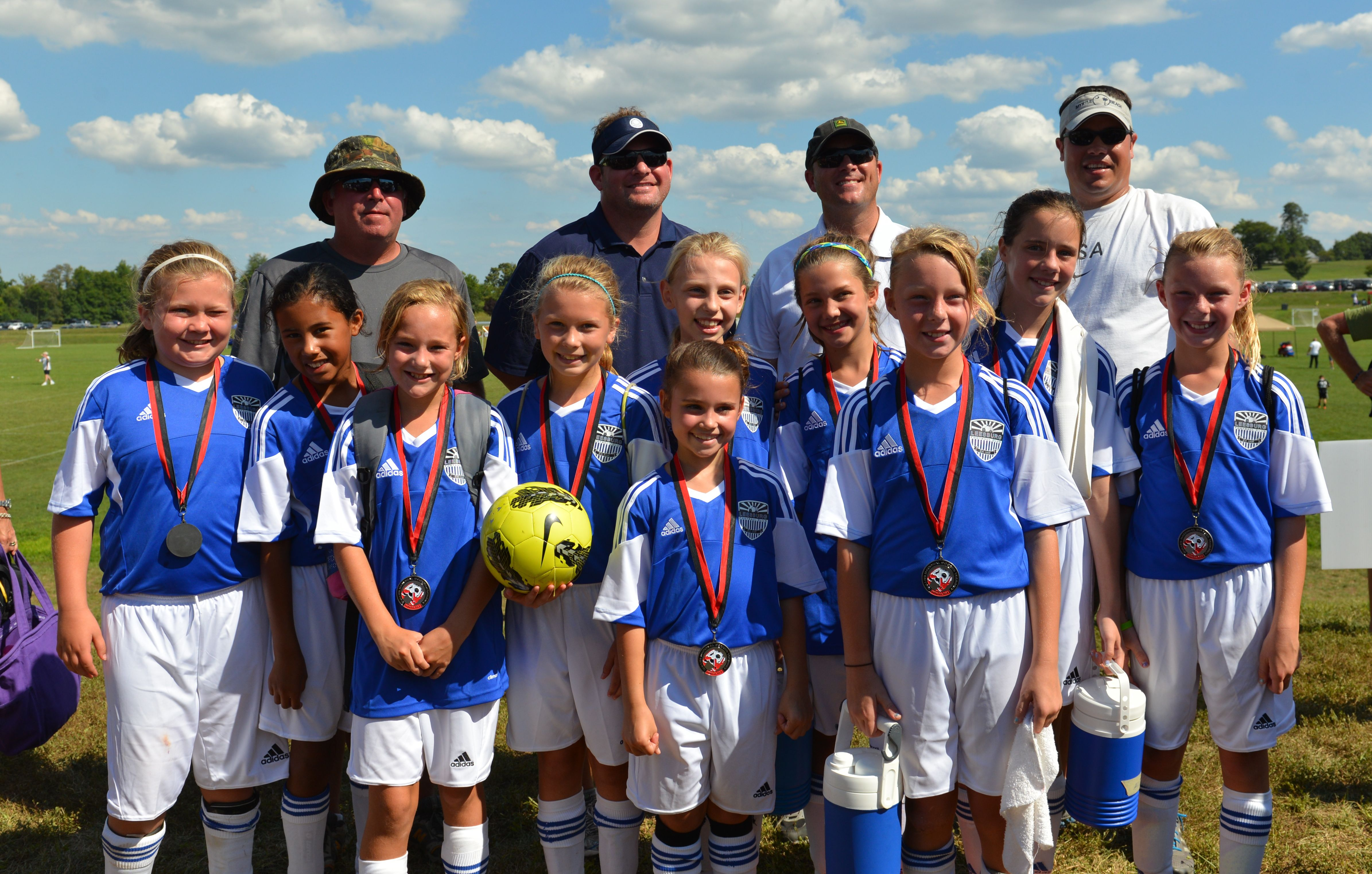 f69532edd DSC 3404. The Leesburg FC 98 Super Strikers finished as Finalists in the U15  Champions Division.